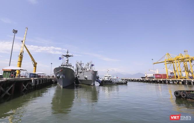 Đội tàu khu trục Hải quân Hàn Quốc chính thức thăm Đà Nẵng ảnh 2