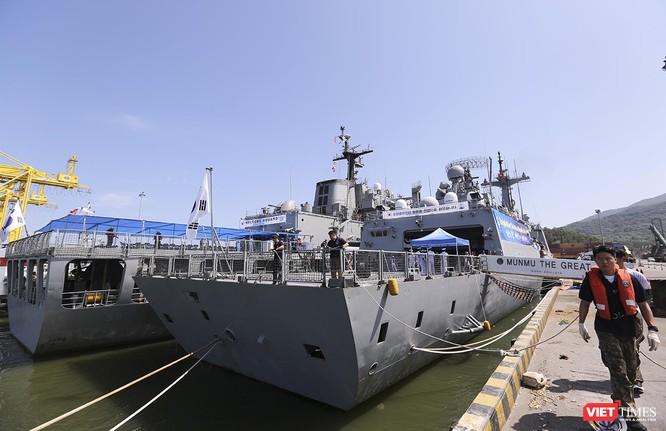 Đội tàu khu trục Hải quân Hàn Quốc chính thức thăm Đà Nẵng ảnh 15