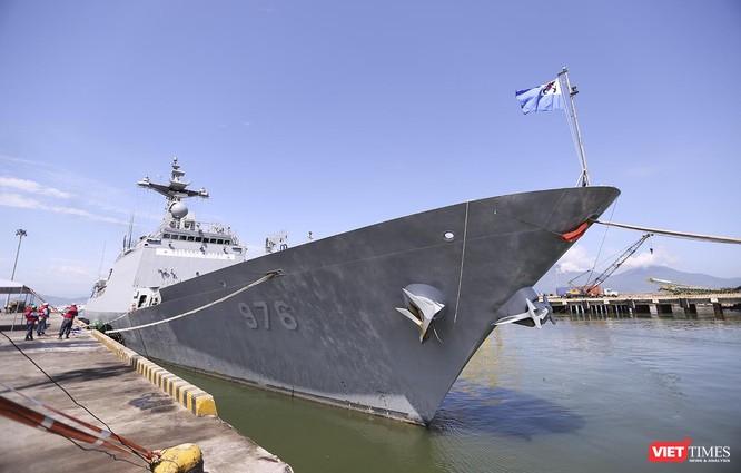 Đội tàu khu trục Hải quân Hàn Quốc chính thức thăm Đà Nẵng ảnh 3
