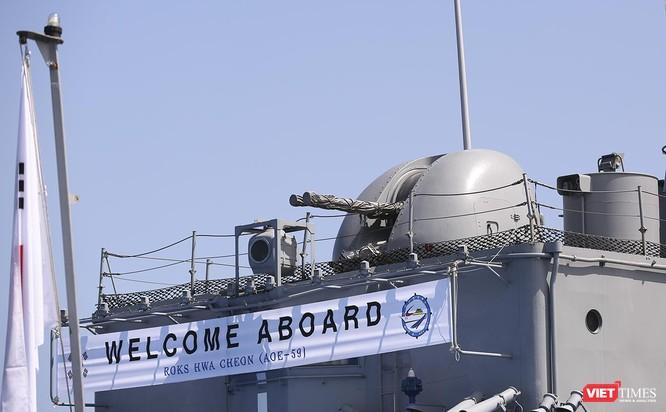 Đội tàu khu trục Hải quân Hàn Quốc chính thức thăm Đà Nẵng ảnh 17
