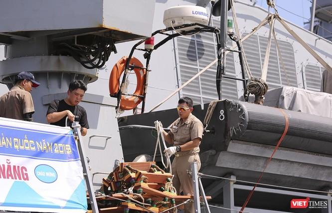 Đội tàu khu trục Hải quân Hàn Quốc chính thức thăm Đà Nẵng ảnh 20