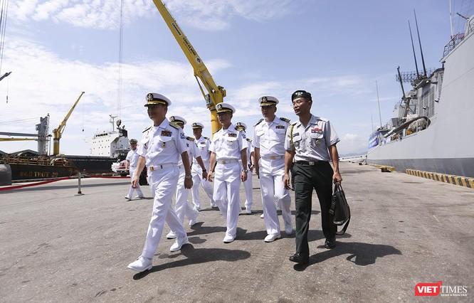 Đội tàu khu trục Hải quân Hàn Quốc chính thức thăm Đà Nẵng ảnh 24