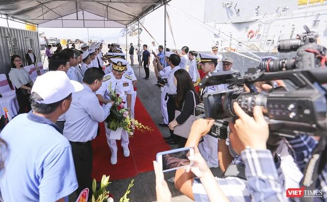 Đội tàu khu trục Hải quân Hàn Quốc chính thức thăm Đà Nẵng ảnh 27
