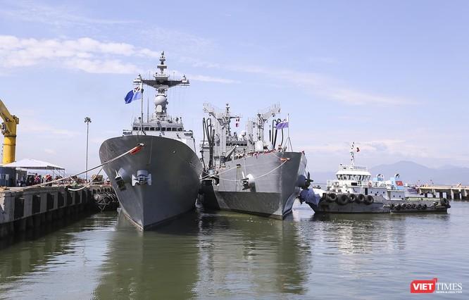 Đội tàu khu trục Hải quân Hàn Quốc chính thức thăm Đà Nẵng ảnh 4