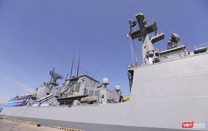 Đội tàu khu trục Hải quân Hàn Quốc chính thức thăm Đà Nẵng ảnh 7