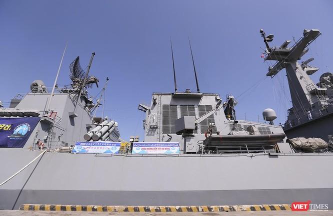 Đội tàu khu trục Hải quân Hàn Quốc chính thức thăm Đà Nẵng ảnh 9