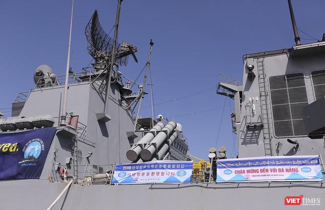 Đội tàu khu trục Hải quân Hàn Quốc chính thức thăm Đà Nẵng ảnh 10