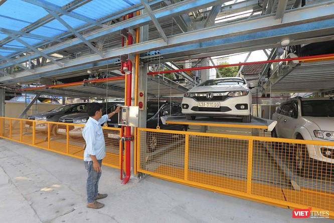 Bãi đỗ xe tô tô thông minh đầu tiên ở Đà Nẵng ảnh 1