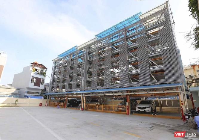 Bãi đỗ xe tô tô thông minh đầu tiên ở Đà Nẵng ảnh 4