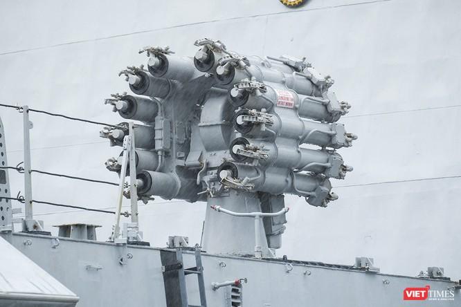 Cận cảnh chiến hạm tàng hình đa nhiệm Hải quân Ấn Độ ở Đà Nẵng ảnh 5