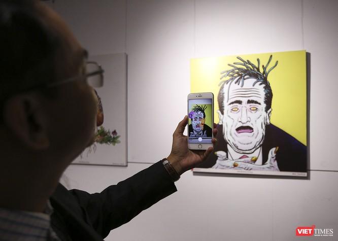 Ảnh: Thú vị với tranh AR tại triển lãm nghệ thuật người nước ngoài Đà Nẵng 2019 ảnh 11