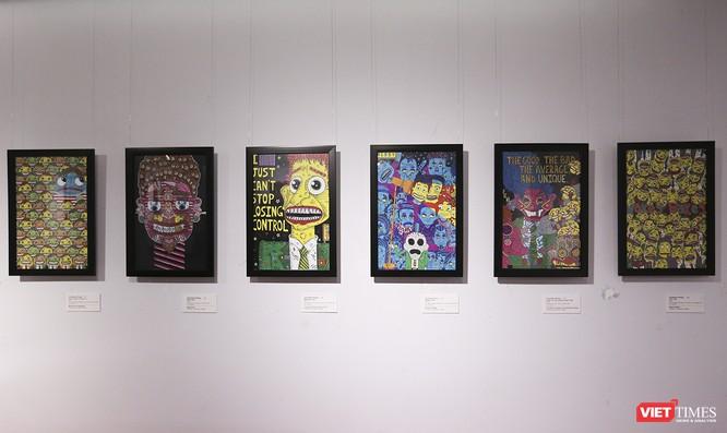 Ảnh: Thú vị với tranh AR tại triển lãm nghệ thuật người nước ngoài Đà Nẵng 2019 ảnh 15