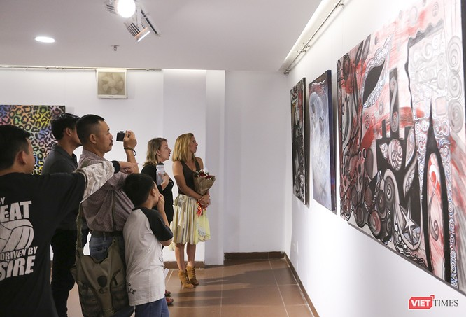 Ảnh: Thú vị với tranh AR tại triển lãm nghệ thuật người nước ngoài Đà Nẵng 2019 ảnh 7