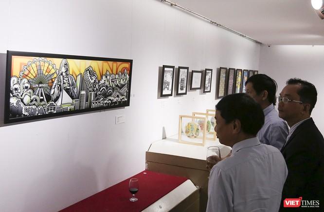 Ảnh: Thú vị với tranh AR tại triển lãm nghệ thuật người nước ngoài Đà Nẵng 2019 ảnh 8