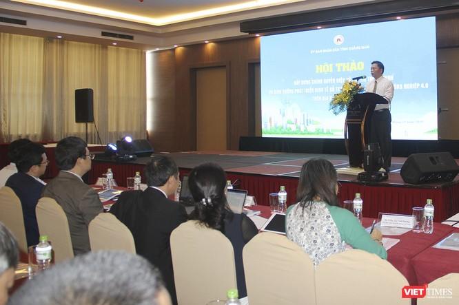 """Quảng Nam mời chuyên gia hiến kế, bàn cách """"xây dựng chính quyền đô thị và phát triển kinh tế số"""" ảnh 1"""