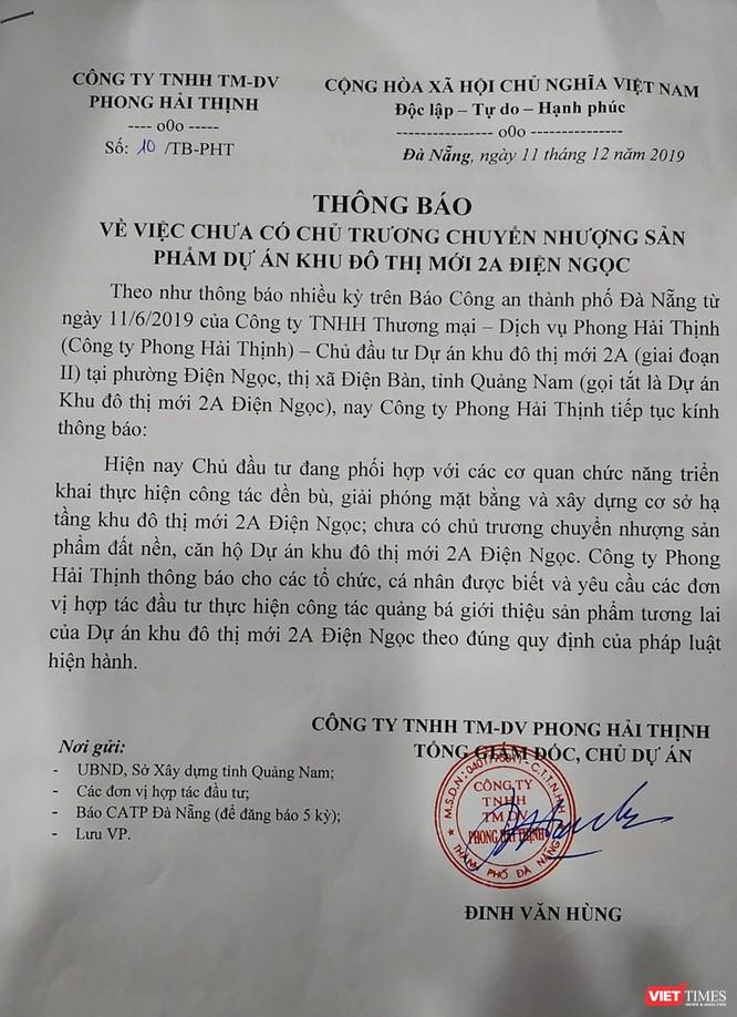 BĐS Quảng Nam: Chuyện gì đang xảy ra ở dự án Khu dân cư mới 2A - Pride City ảnh 1