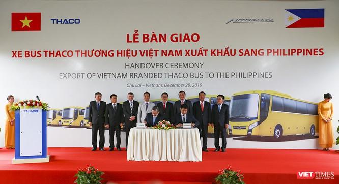 Thaco xuất khẩu lô xe bus đầu tiên sang Philippines ảnh 1