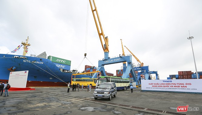 Thaco xuất khẩu lô xe bus đầu tiên sang Philippines ảnh 4