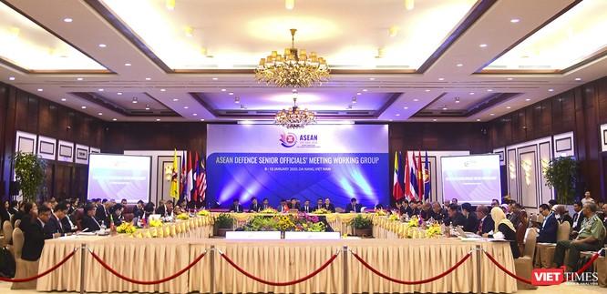 Quan chức quốc phòng cấp cao ASEAN (ADSOM WG) nhóm họp tại Đà Nẵng ảnh 1