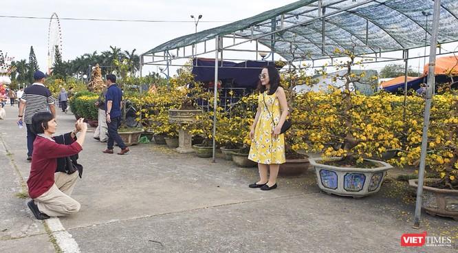 Ảnh: Rộn ràng chợ hoa xuân Đà Nẵng ảnh 15