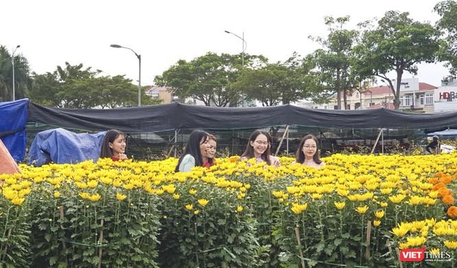 Ảnh: Rộn ràng chợ hoa xuân Đà Nẵng ảnh 18