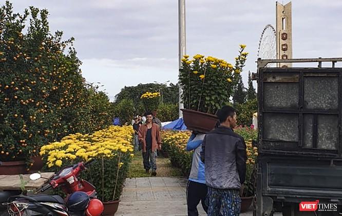 Ảnh: Rộn ràng chợ hoa xuân Đà Nẵng ảnh 20