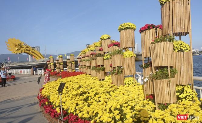 Đà Nẵng: Đến đường hoa Bạch Đằng, thấy Tết Canh Tý đang về rất gần ảnh 5