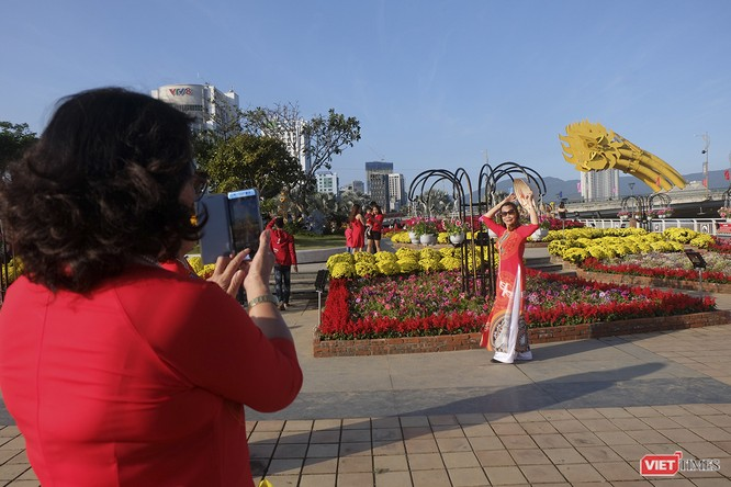 Đà Nẵng: Đến đường hoa Bạch Đằng, thấy Tết Canh Tý đang về rất gần ảnh 10