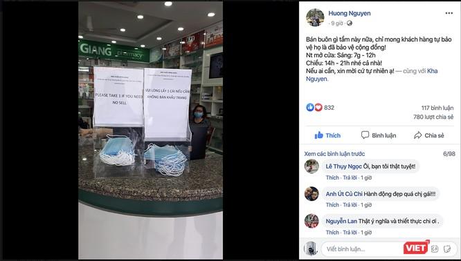 """Tình người Đà Nẵng trong """"cơn bão"""" virus Corona: Hơn 20 điểm phát khẩu trang miễn phí ảnh 1"""