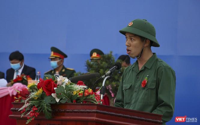 Đà Nẵng: 100% thanh niên nhập ngũ được kiểm tra dịch tễ, đo thân nhiệt trong ngày tuyển quân ảnh 2