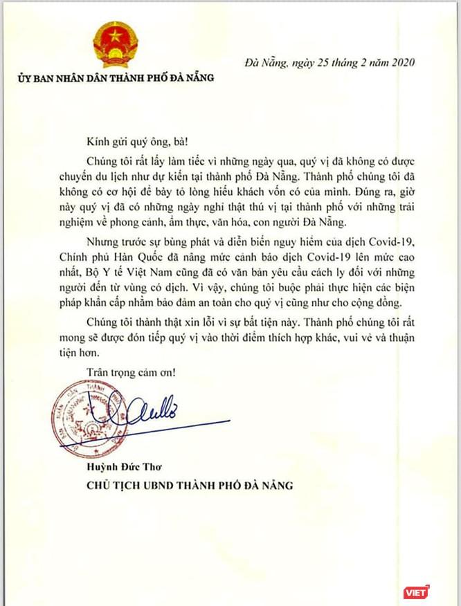 Sau vụ du khách Hàn Quốc nhập cảnh, Đà Nẵng nâng mức kiểm soát tuyệt đối để phòng dịch COVID-19 ảnh 2