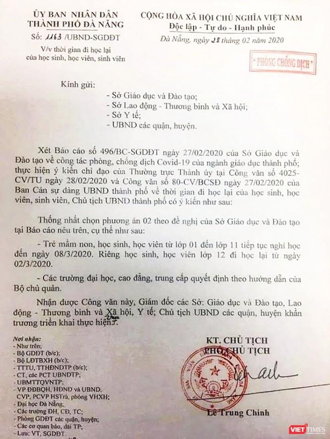Phụ huynh, nhà quản lý giáo dục ở Đà Nẵng nói gì về việc cho học sinh trở lại trường? ảnh 1