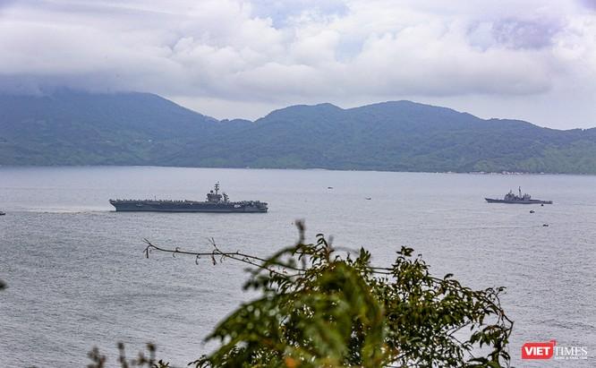 Toàn cảnh chuyến thăm của đội tàu USS Theodore Roosevelt (CVN-71) ở Đà Nẵng ảnh 1
