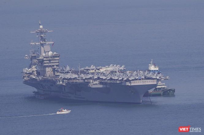 Toàn cảnh chuyến thăm của đội tàu USS Theodore Roosevelt (CVN-71) ở Đà Nẵng ảnh 22