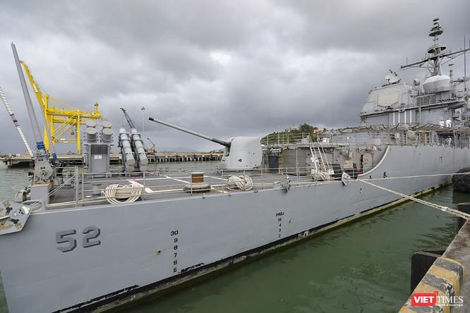 Toàn cảnh chuyến thăm của đội tàu USS Theodore Roosevelt (CVN-71) ở Đà Nẵng ảnh 47