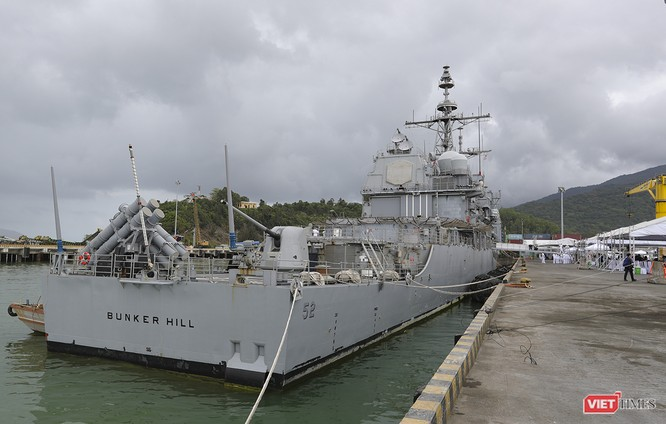 Toàn cảnh chuyến thăm của đội tàu USS Theodore Roosevelt (CVN-71) ở Đà Nẵng ảnh 48
