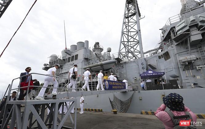 Toàn cảnh chuyến thăm của đội tàu USS Theodore Roosevelt (CVN-71) ở Đà Nẵng ảnh 50