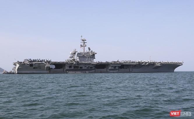 Toàn cảnh chuyến thăm của đội tàu USS Theodore Roosevelt (CVN-71) ở Đà Nẵng ảnh 54