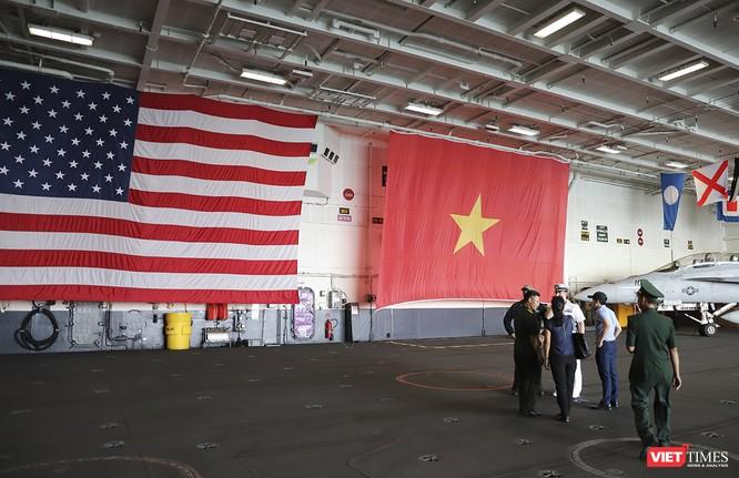 Toàn cảnh chuyến thăm của đội tàu USS Theodore Roosevelt (CVN-71) ở Đà Nẵng ảnh 55