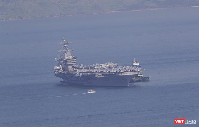 Toàn cảnh chuyến thăm của đội tàu USS Theodore Roosevelt (CVN-71) ở Đà Nẵng ảnh 65