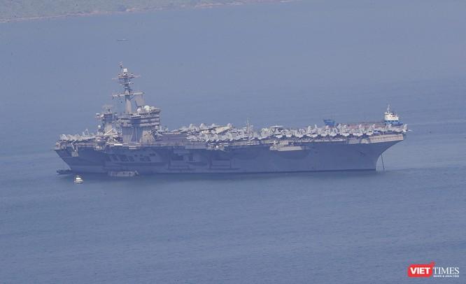 Toàn cảnh chuyến thăm của đội tàu USS Theodore Roosevelt (CVN-71) ở Đà Nẵng ảnh 66