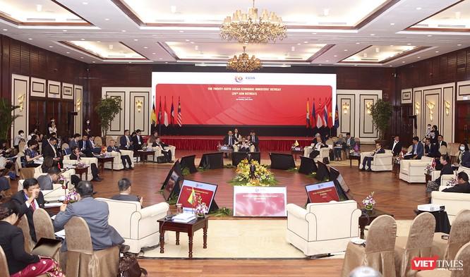 Các Bộ trưởng Kinh tế ASEAN (AEM) ra Tuyên bố chung về COVID-19 ảnh 1