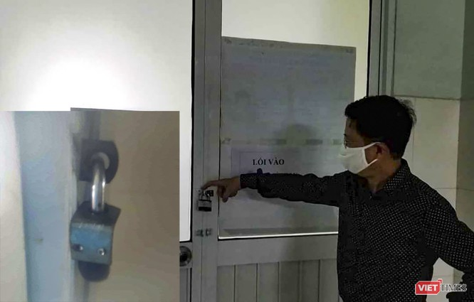 Chồng bệnh nhân mắc COVID-19 thứ 35 đã phá khóa phòng cách ly trốn về nhà ảnh 1