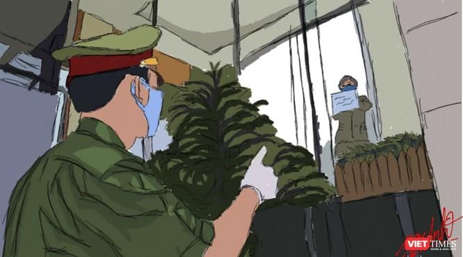 """Thú vị bộ tranh """"chia sẻ"""" với lực lượng phòng chống dịch COVID-19 ảnh 4"""