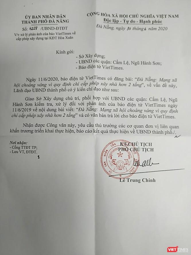 Đà Nẵng yêu cầu làm rõ thông tin VietTimes phản ánh ảnh 1