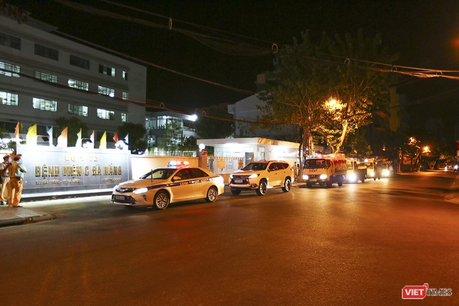 Ảnh: Đà Nẵng chính thức phong tỏa 3 bệnh viện để phòng COVID-19 ảnh 1
