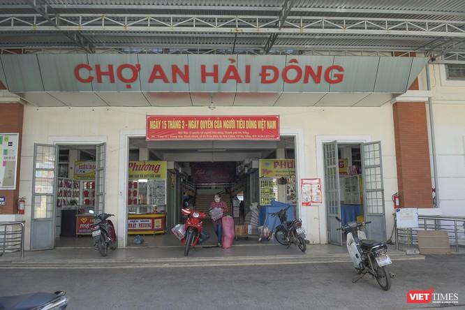 Đà Nẵng: Chợ An Hải Đông đã được dỡ rào chắn phong tỏa ảnh 6