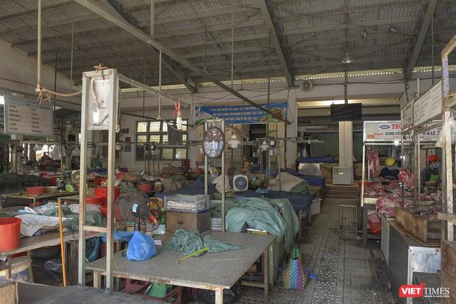 Đà Nẵng: Chợ An Hải Đông đã được dỡ rào chắn phong tỏa ảnh 14
