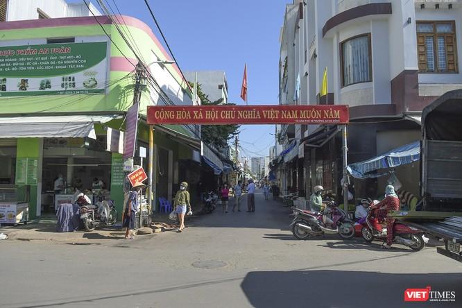 Đà Nẵng: Chợ An Hải Đông đã được dỡ rào chắn phong tỏa ảnh 8