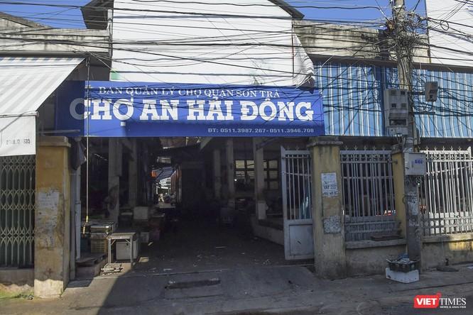 Đà Nẵng: Chợ An Hải Đông đã được dỡ rào chắn phong tỏa ảnh 5